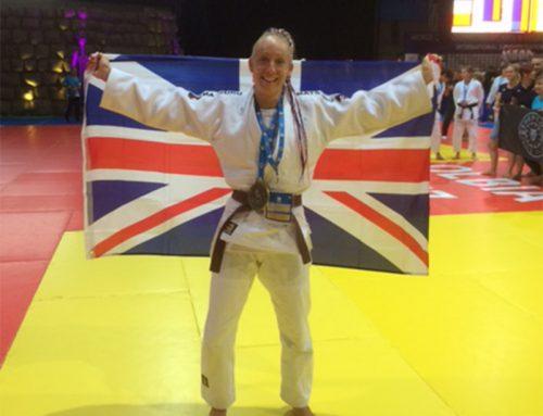 Caz Rawlings – Bronze Medal World Judo Champion